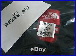 Supreme The North Face RTG Fleece Jacket Black Medium (SS20, Rare)