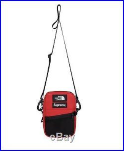 Supreme/The North Face Red Leather Shoulder Bag Order Confirmed