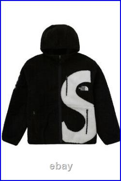 Supreme The North Face S Logo 10/2020 Mountain Veste Medium Black Fleece Jacket