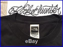 Supreme The North Face Steep Tech Tee Black T Shirt L Box Logo Boxlogo Bogo