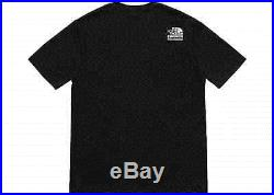 Supreme The North Face Tnf Metallic Logo Tee Black T-shirt X-large Ss18 Sup Dswt
