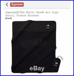Supreme X The North Face Blanket Black