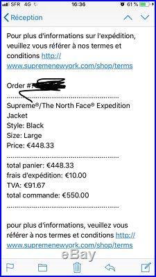 Supreme X The North Face Expedition Jacket Box Logo Cdg