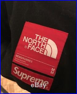 Supreme X The north face steep tech black jacket