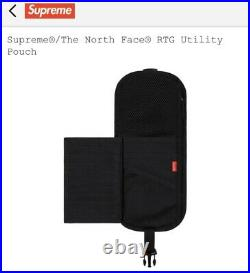Supreme x North Face RTG Utility Pouch Bright Red SS20 Box Logo Yeezy Tupac Bape