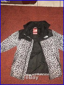 Supreme x North Face léopard jacket Drake