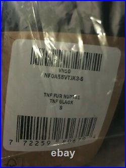 Supreme x The North Face Faux Fur Nuptse Jacket Black Size S DS