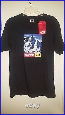 Supreme x The North Face Mountain Tee Black Size M