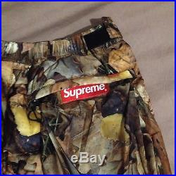 Supreme x The North Face Nuptse Pant Leaves S FW16 Tnf Bape Palace Adidas Yeezy