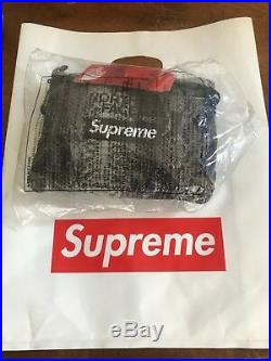Supreme x The North Face Snakeskin bag New