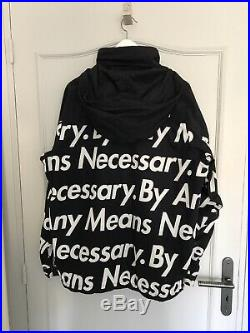 Supreme x The north face By Any Means Necessary Size large
