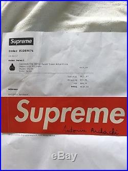 Supreme x the north face pullover gore tex