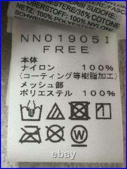 THE NORTH FACE Arc Logo 6-Pan Casquette Nn019051 Nylon Rouge Nylon De Japon 322