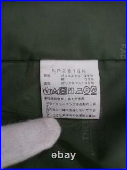 THE NORTH FACE Balmacaan S 65 35 Np2818N Étiquette Taille VERT De Japon Manteau