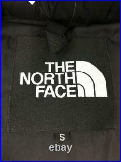 THE NORTH FACE Dessus St Manteau S Noir Nd91831 Nylon Noir Bas Veste De Japon