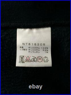 THE NORTH FACE Détail Limité Gravité Nt61620R Coton Noir Sweat à Capuche Japon