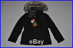 THE NORTH FACE Enfants Filles Greenland Bas Parka XS 6 Noir Gris Authentique