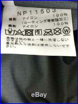 THE NORTH FACE Escalader Clair Veste Nylon Noir Uni Mode Sweat à Capuche Japon