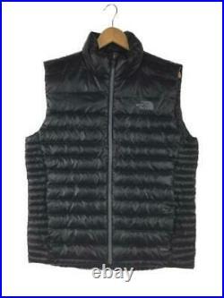 THE NORTH FACE Évasé M Nylon Nf0A3Kevjk3 Étiquette Taille Noir Gilet 4693 Japon