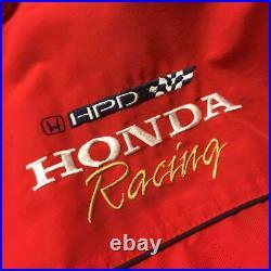 THE NORTH FACE Honda de Course Montagne Capuche 1998 Modèle Vintage Rouge X L