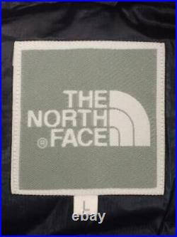 THE NORTH FACE L Nylon Nvy Veste Ndw91647 Étiquette Taille Marine Bas