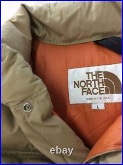 THE NORTH FACE L Pol Ter Beg Étiquette Taille L Beige Gilet 1966 De Japon