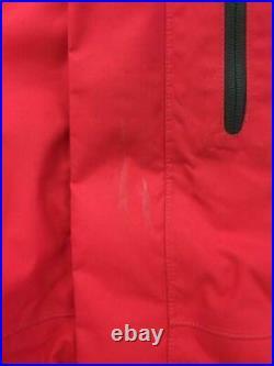 THE NORTH FACE L Rouge Nylon Rouge Mode Bas Veste 4856 De Japon