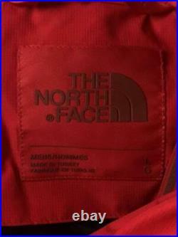 THE NORTH FACE L Rouge Polyester Rouge Mode Bas Veste 4856 De Japon