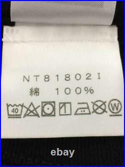 THE NORTH FACE M Coton Rue Asiatique Taille M Noir De Japon T-Shirt 6095