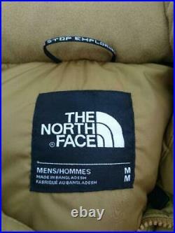THE NORTH FACE M Mcmurdo A Makumadopaka Nd51901Z Nylon Ocre Veste Doudoune