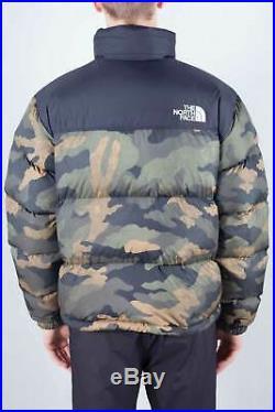 THE NORTH FACE Men's camo print 1996 Retro Nuptse down jacket