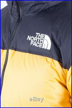 THE NORTH FACE Men's yellow 1996 Retro Nuptse down jacket