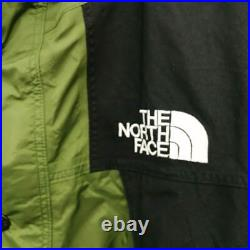 THE NORTH FACE Mountain Parker Olive Noir Np2190 Homme Sukajan A3150