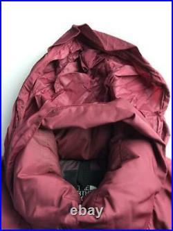 THE NORTH FACE Nupushi L Nylon BRD Étiquette Taille Bordeaux Gilet 4987 De Japon