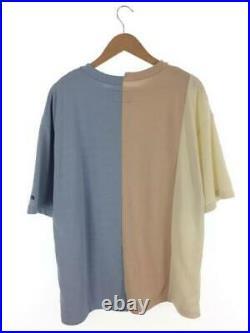THE NORTH FACE PURPLE LABEL 19Ss Asymétrie Logo T-Shirt L Coton Nt3916N