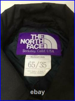 THE NORTH FACE PURPLE LABEL 65 35 Baie Tête Croix Balmacaan FT S Tag S Manteau