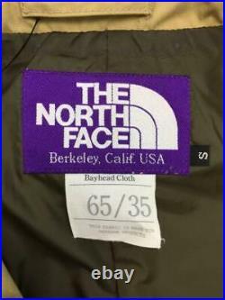 THE NORTH FACE PURPLE LABEL 65 35 Croix Fu Dette S Pol Ter Np2519N Tag S Manteau