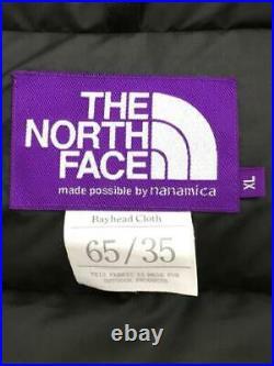 THE NORTH FACE PURPLE LABEL XL Polyester Mode Bas Veste De Japon