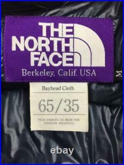 THE NORTH FACE Photoelectron M Nd2456N Coton Étiquette Taille M Marine Bas Veste