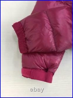 THE NORTH FACE Pull à Capuche Ndw91314 S Nylon Rouge Étiquette TAILLE Bas Veste