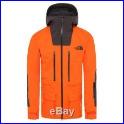 THE NORTH FACE SUMMIT Ceptor Futurelight Jacket Papaya Orange/Weathered Black