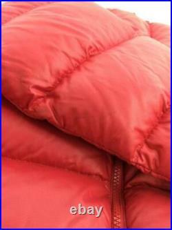 THE NORTH FACE S Nylon Ndw01233 Rouge Étiquette TAILLE Bas Veste De Japon