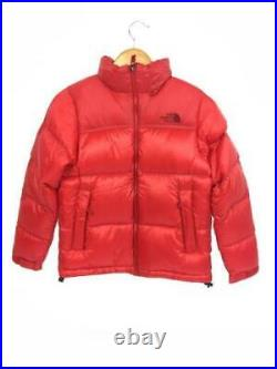 THE NORTH FACE S Nylon Rouge Ndw91407 Veste Étiquette TAILLE Bas