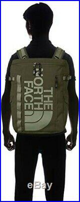 THE NORTH FACE Sac à Dos BC Fusible Boite 2 NM81817 Neuf Taupe Vert