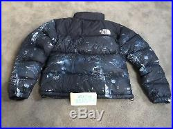 THE NORTH FACE x EXTRA BUTTER Nuptse Night Crawlers Size S
