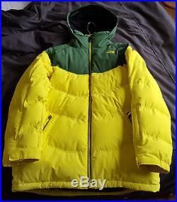 The NORTH FACE veste ski doudoune homme M neuve, légère trace noire invisible