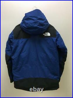 The North Face 17Aw Bas Parka M Nylon Nd91700R Bleu Nylon Veste De Japon