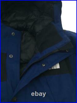 The North Face 17Aw Bas Parka Ma Xs Nylon Sans Bleu Nylon Veste De Japon