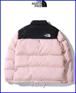 The North Face 1992 Nuptse Jacket Doudoune zipper Casual fashion Down Beige/Noir