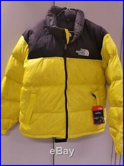 The North Face 1996 Retro Nuptse couleur Lemon Taille L